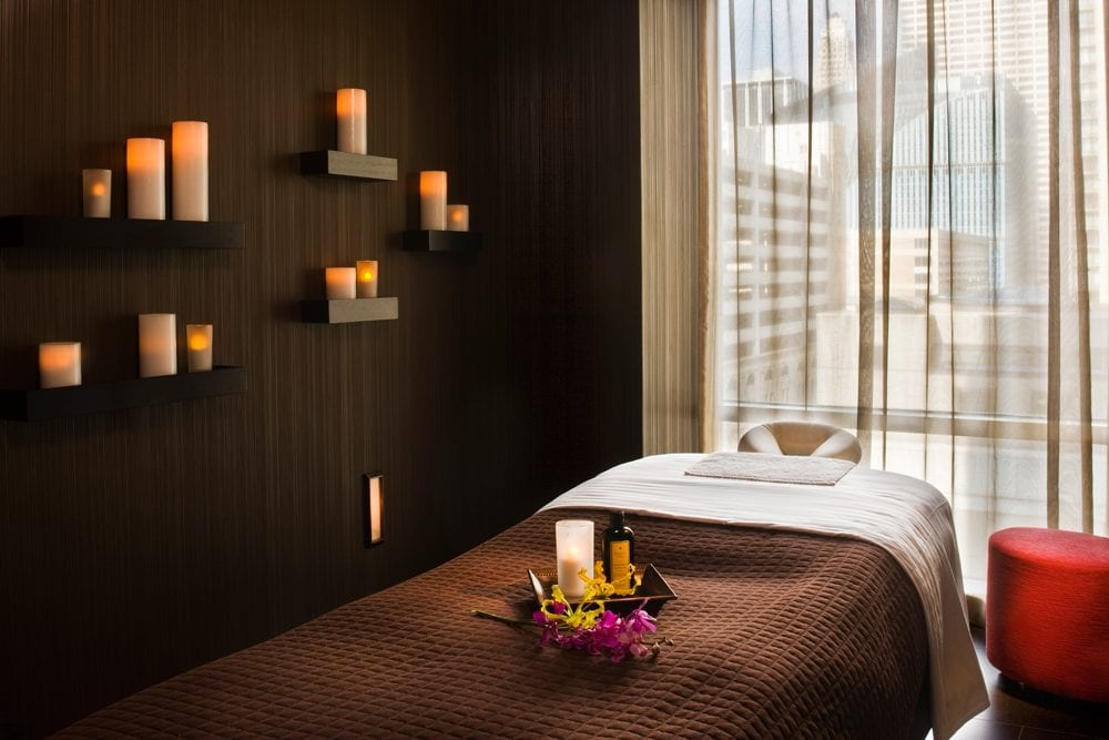 Chicago hotel with spa
