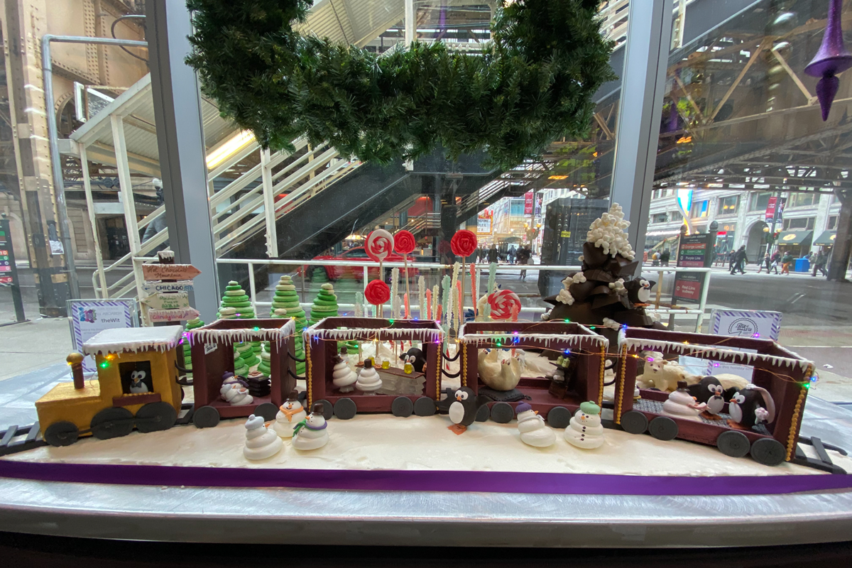 Gingerbread Holiday Train | theWit