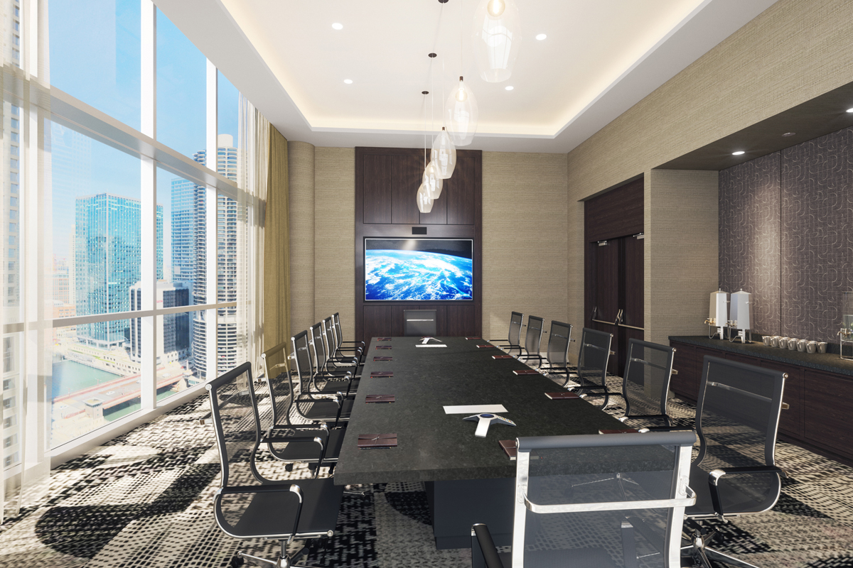 theWit Hotel Meeting & Events Boardroom
