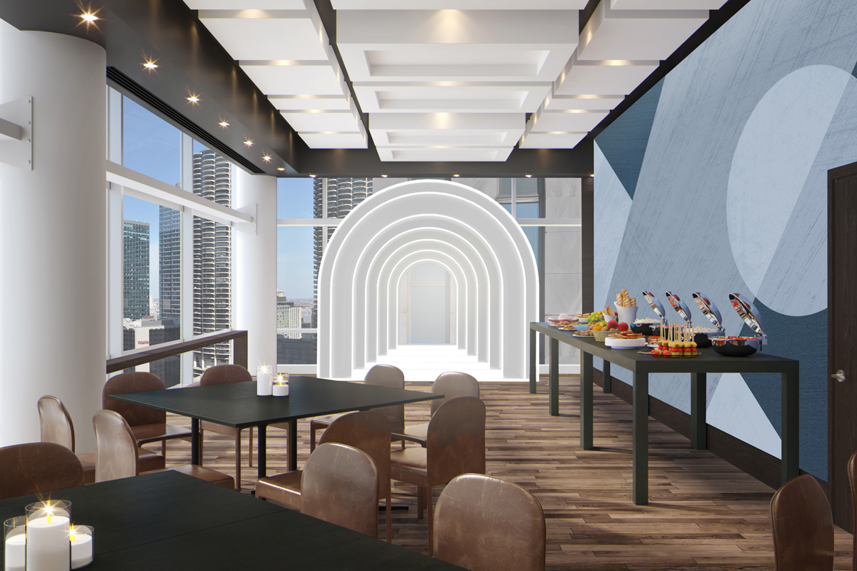 theWit Hotel Meeting & Events Gateway Room